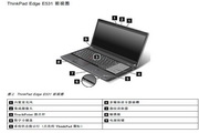 IBM(ThinkPad) ThinkPad Edge E531笔记本电脑说明书