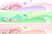 春天潮流花纹素材19