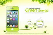 手机创意设计PSD免费素材