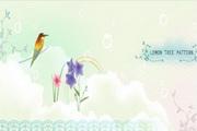 春天潮流花纹素材20