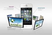 智能手机PSD创意素材