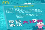 夏日冰饮PSD活动海报