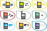 手機矢量圖標素材