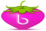 草莓标志桌面图标下载