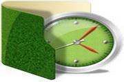 绿色文件夹桌面图标