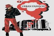 都市时尚插画矢量素材