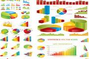 数据统计主题矢量图素材