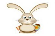 可爱兔子桌面图...