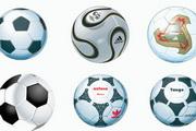 专业足球矢量素材