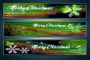 矢量圣诞节banner图01