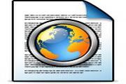 淡蓝文件桌面图标下载