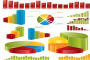 矢量彩色三维数据效果图