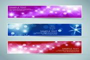 矢量圣诞节banner设计图