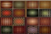 矢量欧式丝绸布料背景图