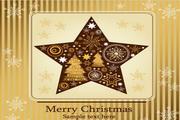 精美圣诞横幅矢量设计素材