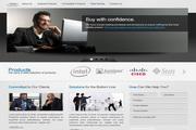 品牌企业网页模板psd分层素材
