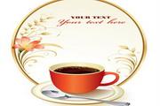欧式咖啡矢量设计素材