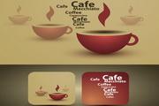 咖啡杯概念矢量素材