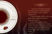 咖啡宣传海报矢量素材