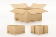 包装盒效果图矢量设计