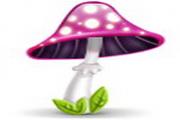 可爱蘑菇电脑图标下载