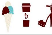饮食高跟鞋图标