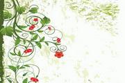 韩国手绘花纹矢量素材