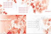 梦幻粉色花朵