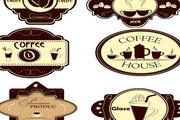 咖啡瓶贴标签
