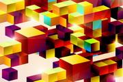 色彩方块矢量