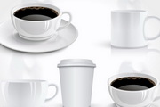 写实咖啡矢量