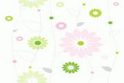 平铺花纹背景矢量图