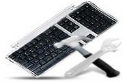 黑白电脑硬件图...