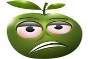 可爱苹果表情图...