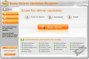 SONY Driver Updates Scanner 5.8