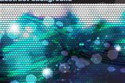 闪亮的科技圆点背景图片矢量图素材