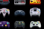 几款游戏机手柄图标素材