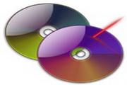 色彩光盘桌面图标下载