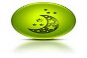 绿色标志电脑图标下载