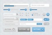 网页UI设计PSD素材