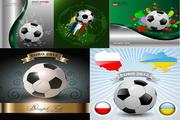 矢量2012足球运动素材