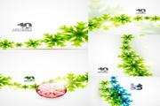 矢量绿色植物装饰素材