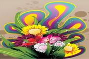 矢量唯美鲜花花卉素材