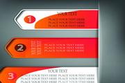 橙色创意横幅模板矢量