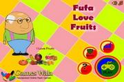 老爹吃水果