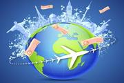 环球旅行矢量设计素材