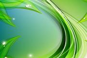 绿色自然背景矢量素材