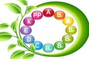 维生素创意标志矢量素材