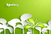 spring春季创意背景图
