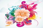 矢量写实鲜花花卉素材